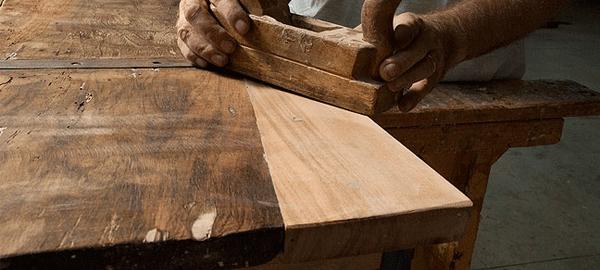 Restauro conservativo dalla falegnameria Latino a Rosolini