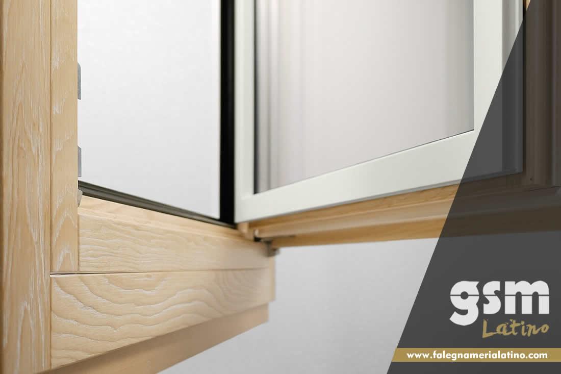 Infissi legno alluminio a taglio termico e risparmio energetico